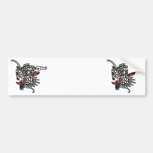 Dragón chino pegatina para auto