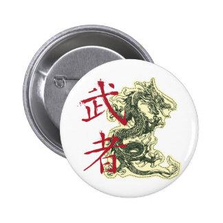 Dragón chino pins