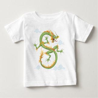 Dragón chino playera para bebé
