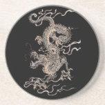Dragón chino posavasos personalizados