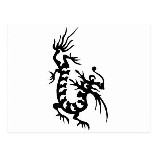 Dragón chino postal