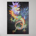 Dragón chino poster