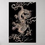 Dragón chino posters