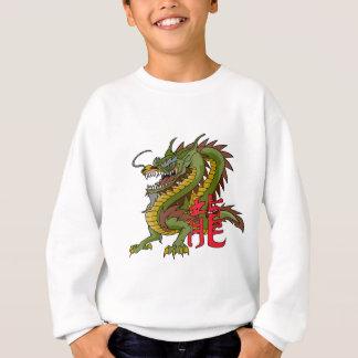 Dragón chino real sudadera