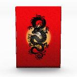 Dragón chino, rojo