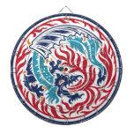 Dragón chino tabla dardos