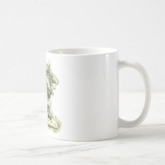 Dragón chino taza de café