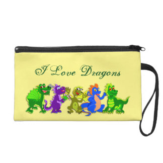 Dragon Chorus Line Wristlet