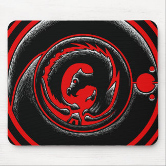 Dragon-Circle Mouse Pad
