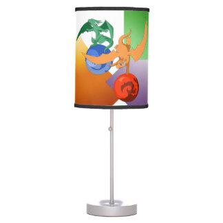 Dragon Circus Colorful Lamp