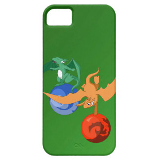 Dragon Circus Forest Green iPhone 5/5s Case