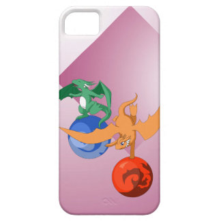 Dragon Circus Pink iPhone 5/5s Cover