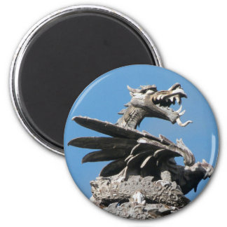 Dragon, City Hall Cardiff, Wales, UK Magnet