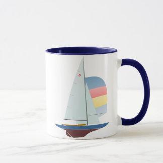 Dragon Class Racing Sailboat Mug