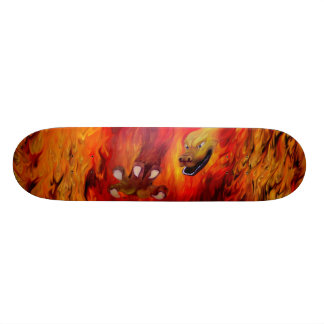 Dragon claw - talk Dragon skateboard