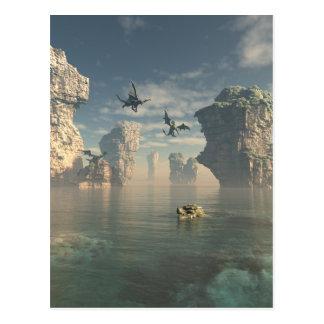Dragon Cliffs Postcard