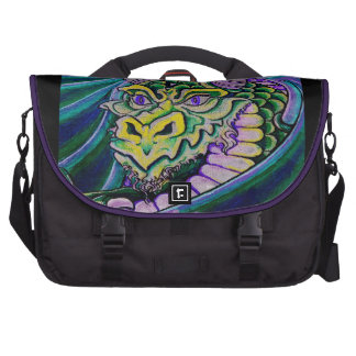 dragon close up (square) bags for laptop