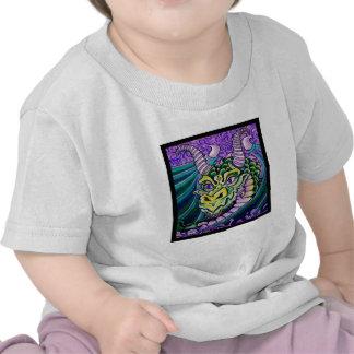 dragon close up (square) t shirts
