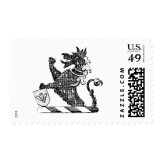 Dragon Clothing 24 Postage Stamps