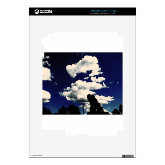 Dragon cloud decals for iPad 2