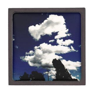 Dragon cloud jewelry box