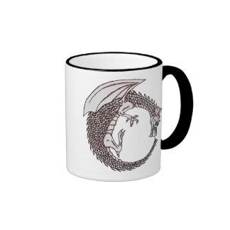 Dragon Coffee Mug! Ringer Coffee Mug