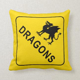 Dragón Cojín