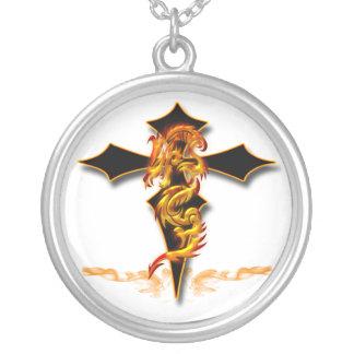 Dragón - collar cruzado