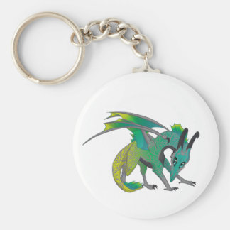 Dragon Color Keychain