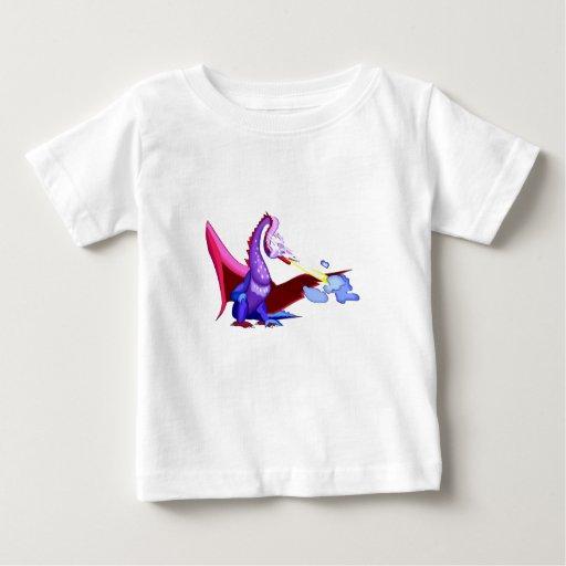Dragón colorido de la fantasía t-shirt