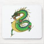 Dragón combinado alfombrillas de raton
