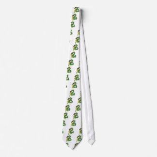 Dragón combinado corbatas