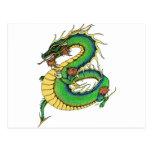 Dragón combinado postales