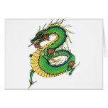 Dragón combinado tarjetas
