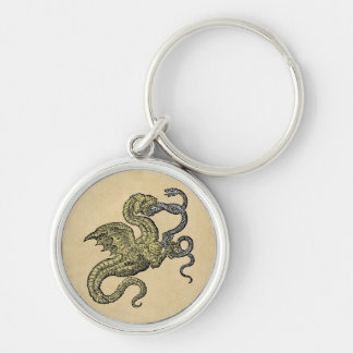 Dragon Conquest of the Snake Keychain