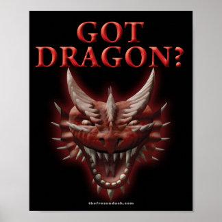 ¿Dragón conseguido? Póster
