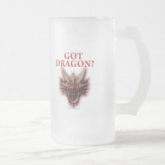 ¿Dragón conseguido? Taza De Cristal
