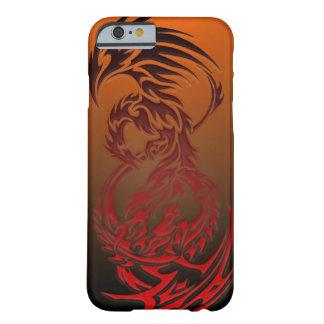 dragón CONTRA el caso del iPhone 6 de Phoenix Funda Para iPhone 6 Barely There