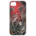 dragón CONTRA el caso del iphone de Phoenix iPhone 5 Case-Mate Cobertura