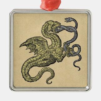 Dragón contra serpiente ornato