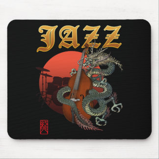Dragon contrabass2 mouse pad