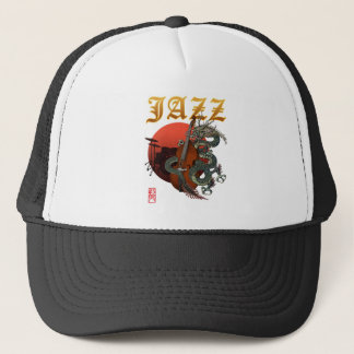 Dragon contrabass2 trucker hat