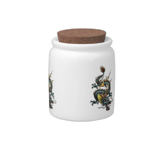 Dragon Cookie Jar 01 Candy Jars