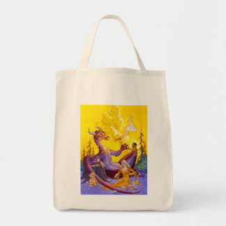 Dragon Cookout Grocery Tote Bag