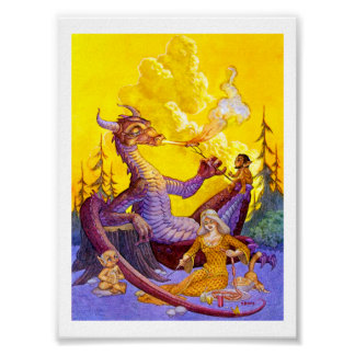 Dragon Cookout Posters