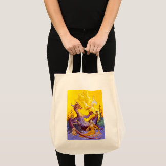 Dragon Cookout Tote Bag