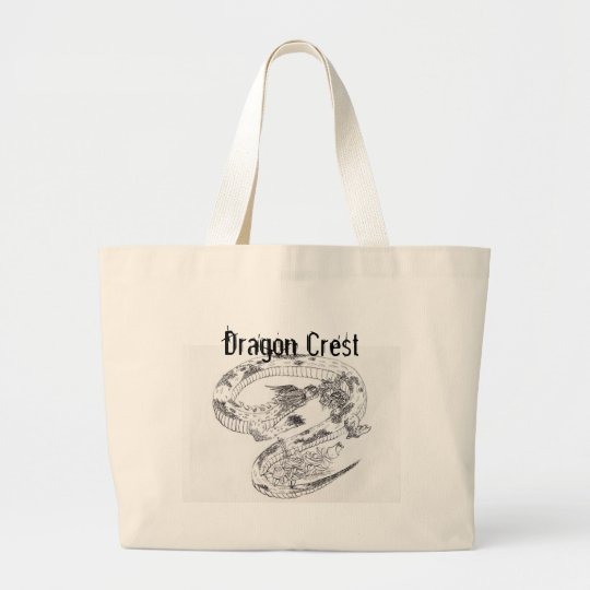 Dragon Crest Purse Large Tote Bag
