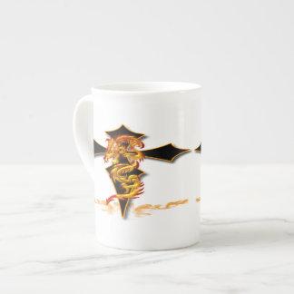 Dragon - Cross Bone China Mug