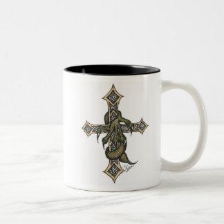 Dragon Cross in Color Mug