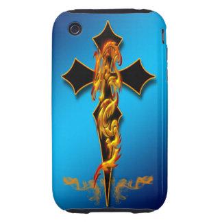 Dragon - Cross iPhone 3 Case-Mate Case